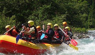 Gail rafting túra