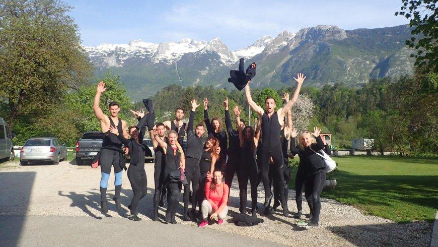 Vadvízi evezés Szlovénia, profi túravezetők