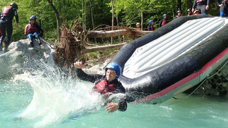 rafting Soca Bovec